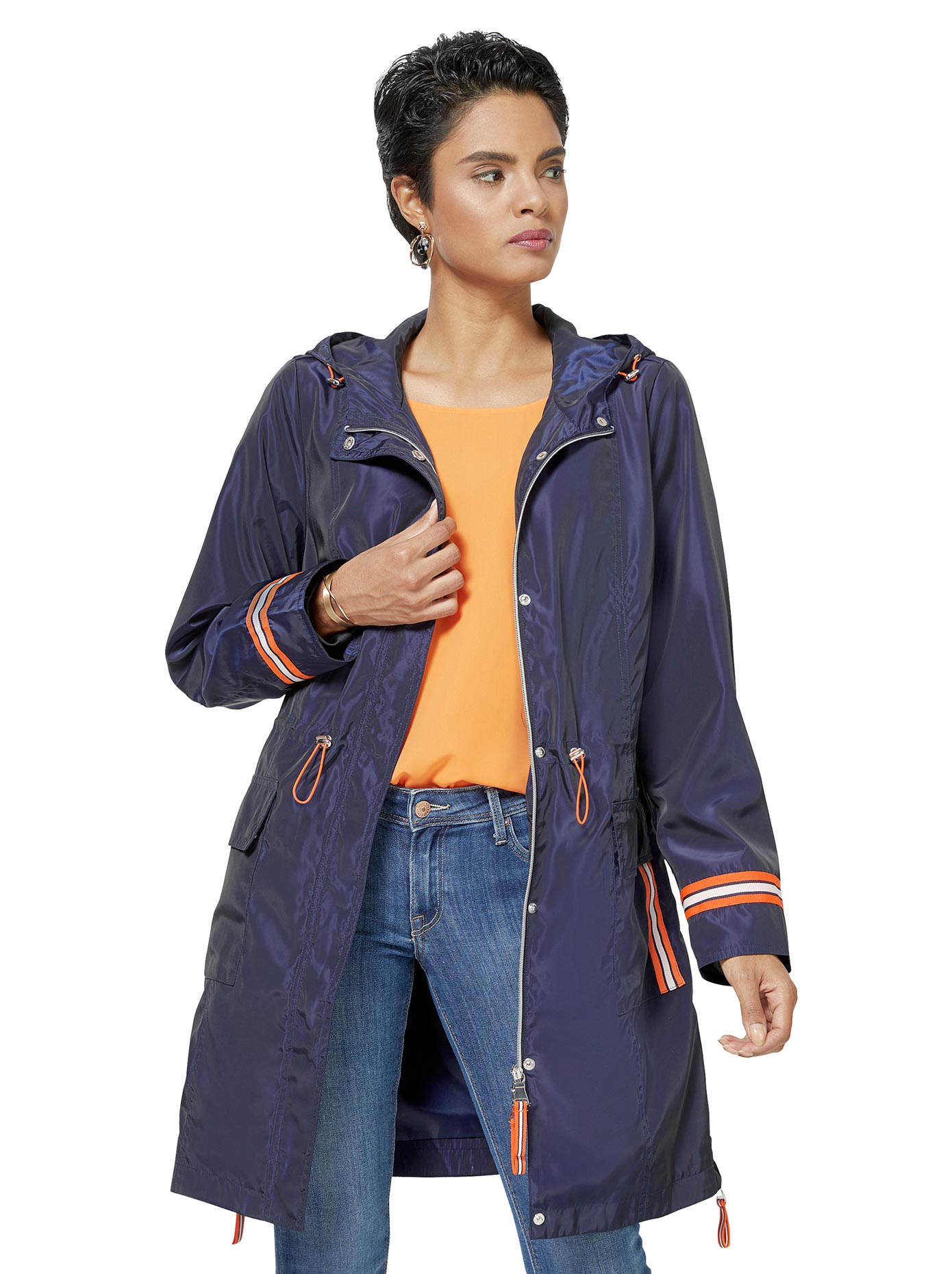 creation l - WITT WEIDEN Damen Parka blau